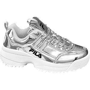 Ezüstszínű fashion sneaker