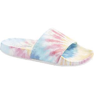 Farebné šľapky Skechers