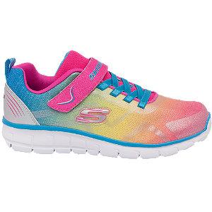 Farebné tenisky na suchý zips Skechers