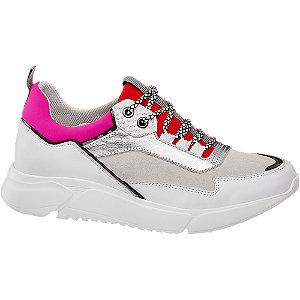 Fehér női chunky sneaker