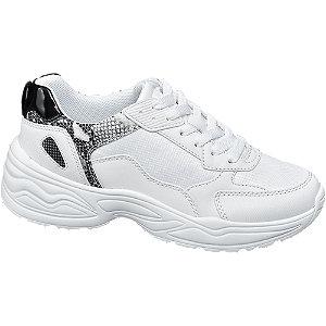 Fehér női fashion sneaker