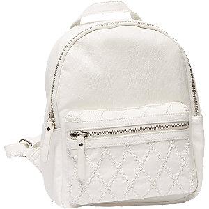 Fehér női hátizsák