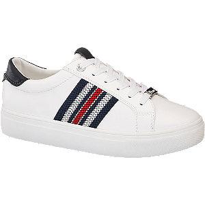 Fehér női platform sneaker