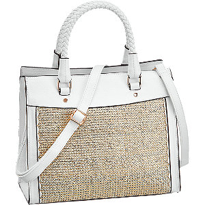 Fehér női táska