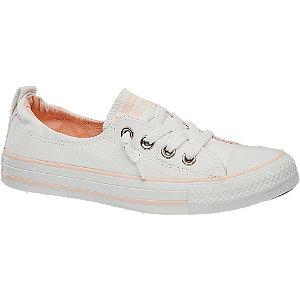 Fehér női vászon sneaker