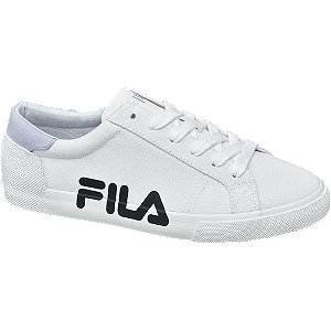Fehér női vászoncipő