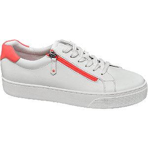 Fehér platform női sneaker