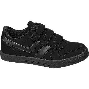 Fekete gyerek sneaker