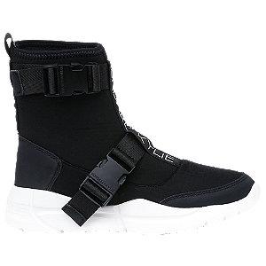 Fekete női sneaker