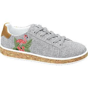 Flamingós női sneaker