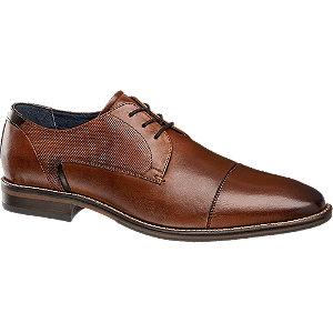 Férfi barna alkalmi cipő