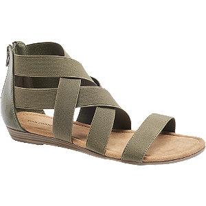 Sandalen in Khaki