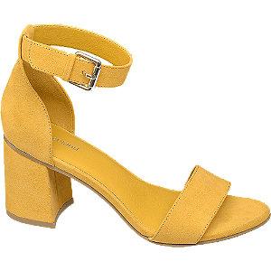 Sandaletten in Gelb