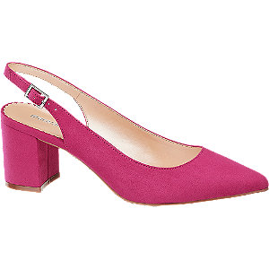 Sling Pumps in Pink