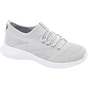 Sock Sneaker in Grau