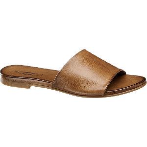 Hnědé kožené pantofle 5th Avenue