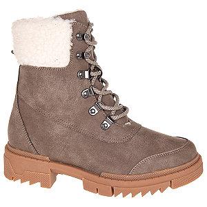 Hnědá šněrovací obuv Vero Moda