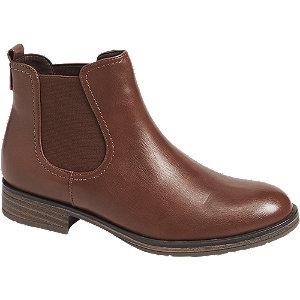 Hnědá obuv chelsea Graceland