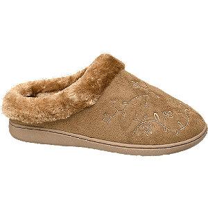 Hnědé papuče Casa mia