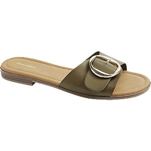 Khaki pantofle Graceland