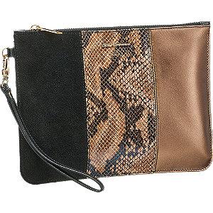 Kožená kabelka do ruky so zvieracím vzorom 5th Avenue