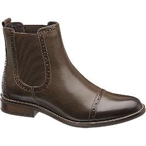 Kožená kotníková obuv Chelsea