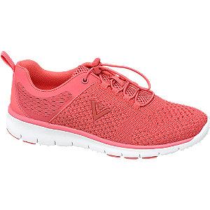 Korall színű női sneaker