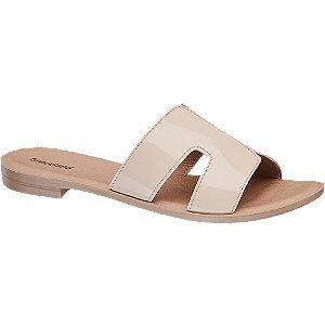 Krémové pantofle Graceland