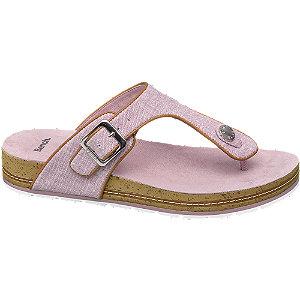 Lila csatos lábujjközi papucs