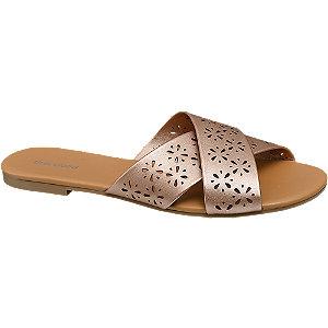 Metalické pantofle