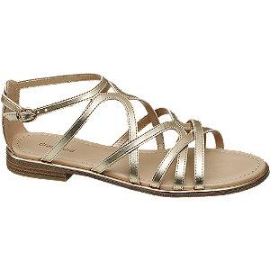 Metalické sandále
