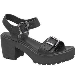 sandały damskie Catwalk czarny