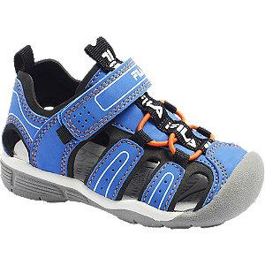 Modré dětské sandály na suchý zip Fila