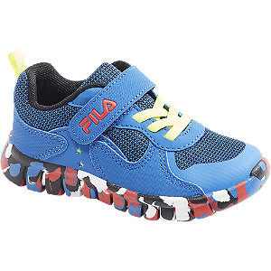 Modré tenisky na suchý zips Fila