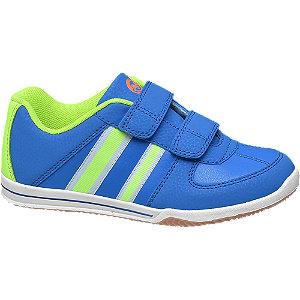 Modré tenisky na suchý zips Victory