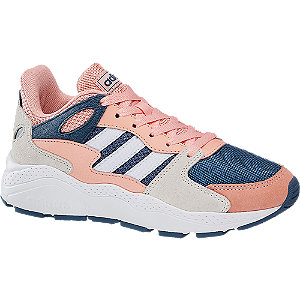 Modro-ružové tenisky Adidas Crazychaos K