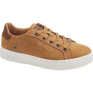 Mustársárga színű női sneaker