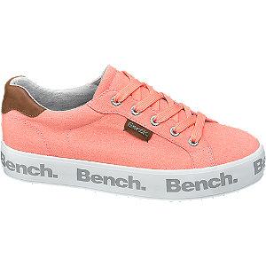 Neonově růžové tenisky Bench