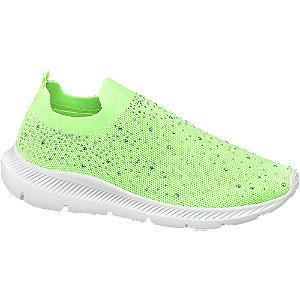 Neonově zelená slip-on obuv Venice