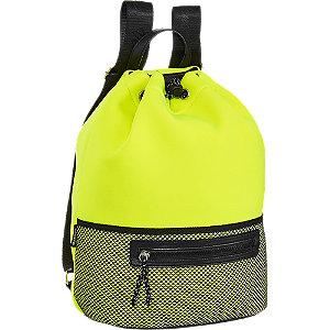 Neonsárga hátizsák