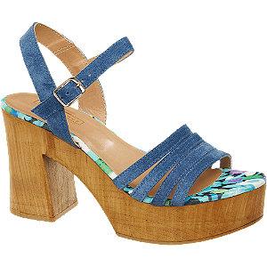 sandały damskie 5th Avenue niebieski
