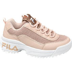 Púder színű női chunky sneaker