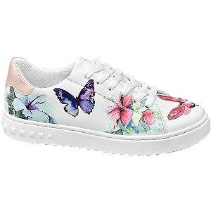 Pillangó mintás sneaker