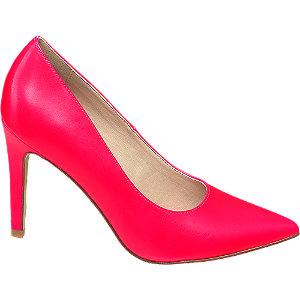 Pink magassarkú körömcipő
