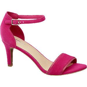 Pink tűsarkú szandál