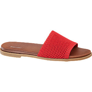 Piros női papucs