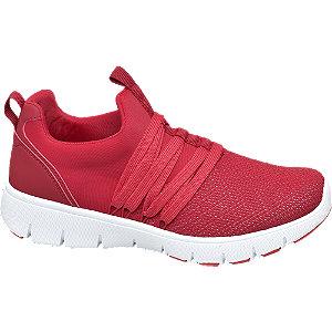 Piros színű női sneaker
