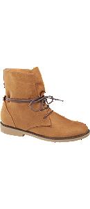Plitke čizme na vezivanje