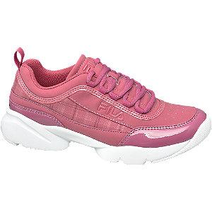 Růžové chunky tenisky Fila