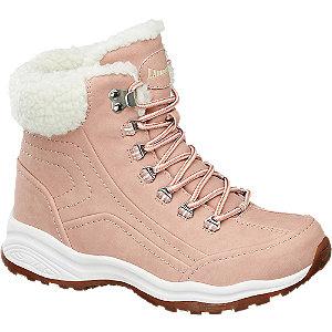 Růžová šněrovací obuv Landrover